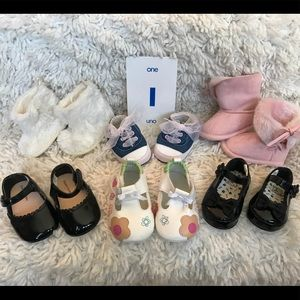 Other - 💕 6 Pair of Baby Girl Shoes Size 1 💕